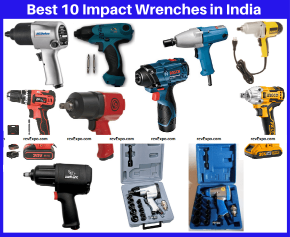 Best 10 Impact Wrenches in India