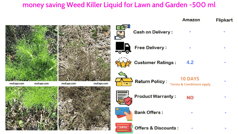 money saving Weed Killer Liquid for Lawn and Garden