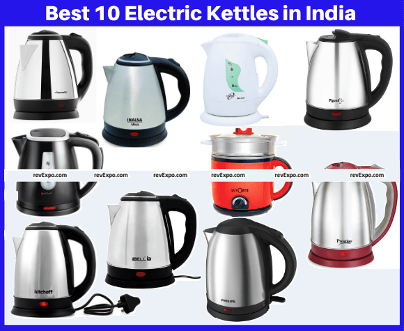 Best 10 Electric Kettles in India