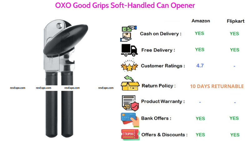 OXO Soft-Handled Can Opener with Good Grips