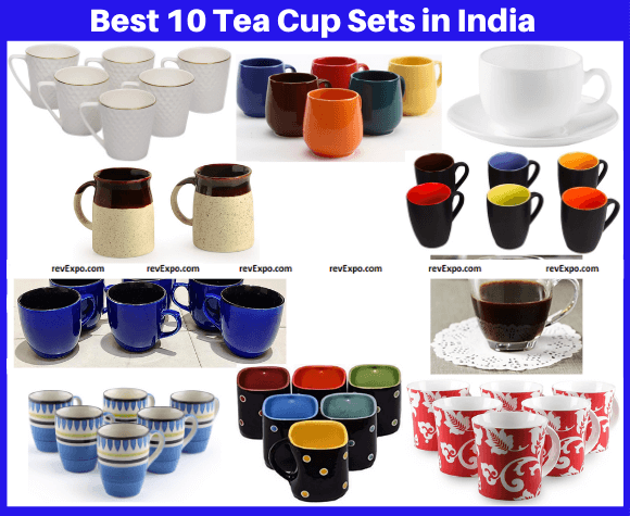 Best 10 Tea Cup Sets in India