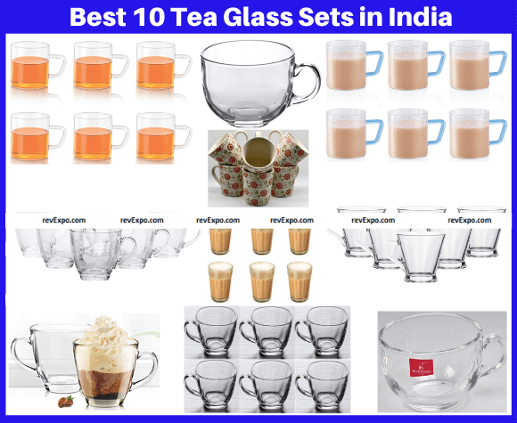 Best 10 Tea Glass Sets in India