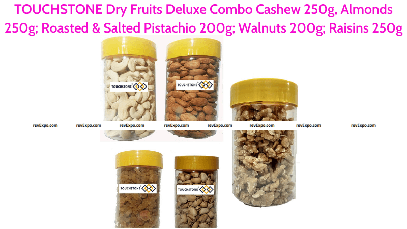 TOUCHSTONE Dry Fruits Combo Cashew, Almonds, Roasted