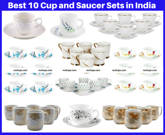 Best 10 Cup and Saucer Sets in India