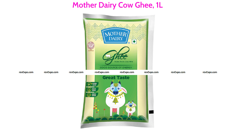 Mother Dairy Cow Ghee 1L