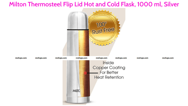 Milton Thermosteel Hot and Cold Flask