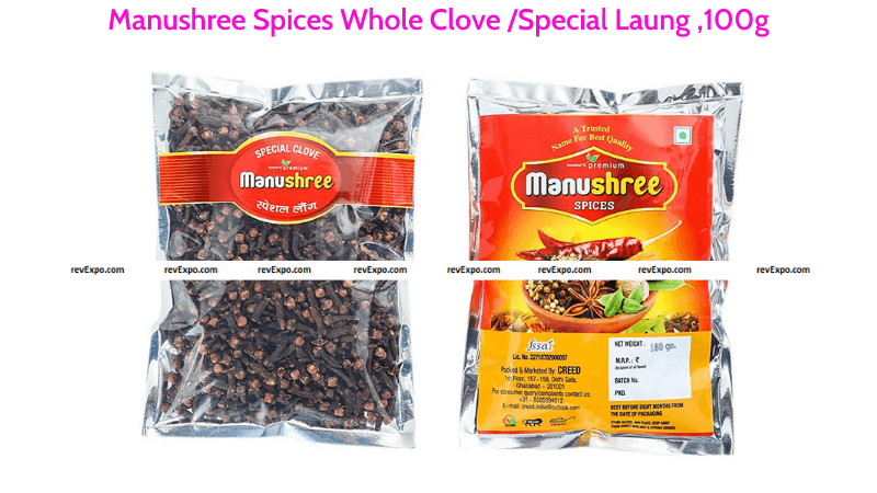 Manushree Spices Whole Cloves Special Laung