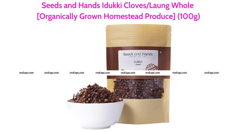 Seeds and Hands Laung Whole Cloves 100g