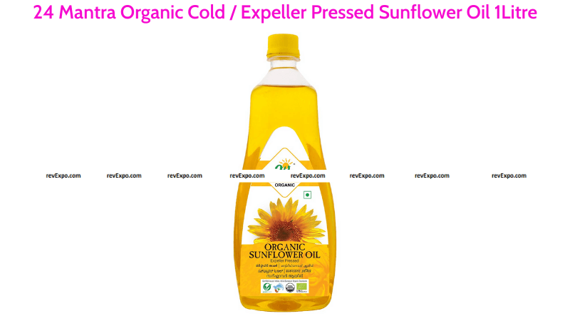 24 Mantra Organic Cold Pressed Sunflower Oil