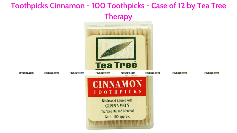 Toothpicks by Tea Tree Therapy