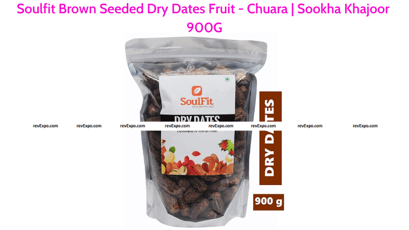 Soulfit Brown Dry Dates 900G