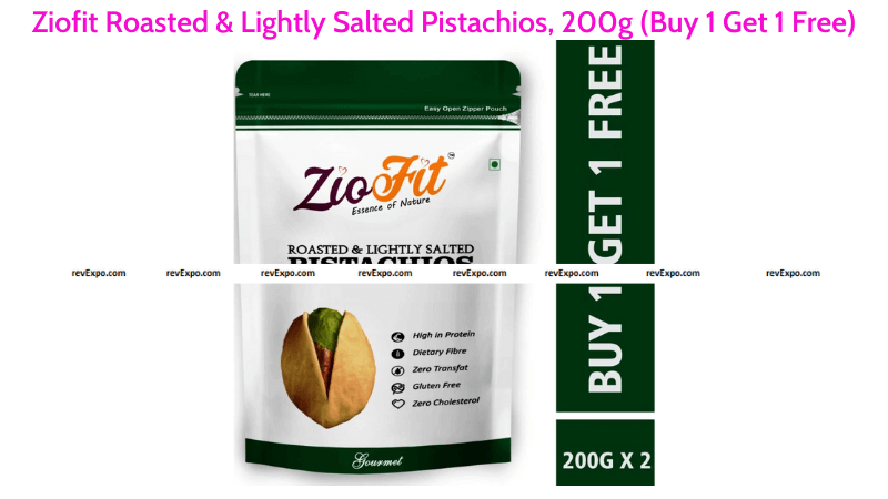 Ziofit Roasted & Salted Pistachios