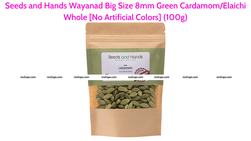Seeds and Hands Green Cardamom 100g