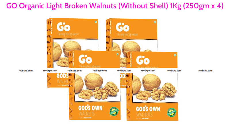 GO Organic Broken Walnuts Without Shell