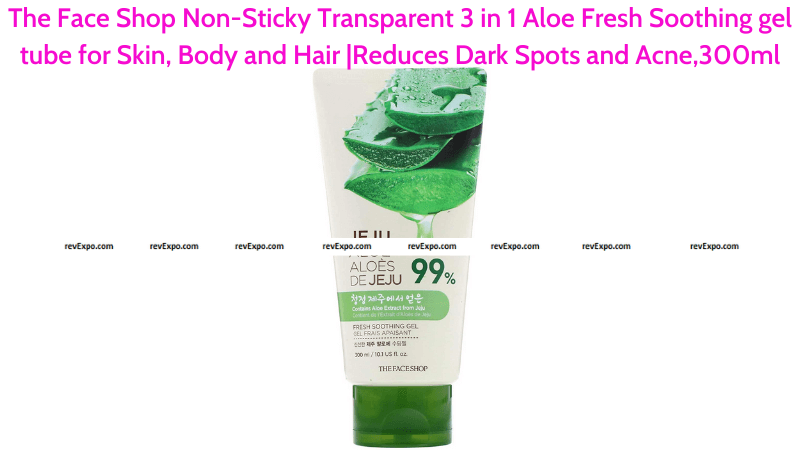 The Face Shop Non-Sticky Aloe Fresh Soothing Gel