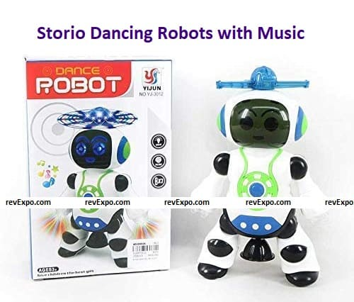 Storio Dancing Robots with Music