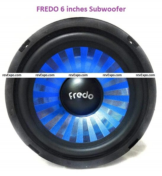 FREDO 6 inches Subwoofers