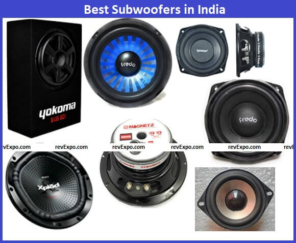 Best Subwoofer types in India
