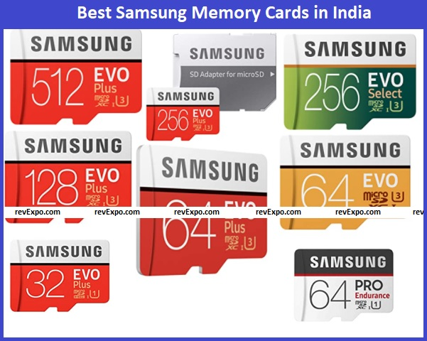 Best Samsung Memory Card types in India