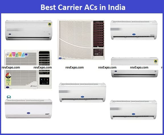 Best Carrier AC models in India