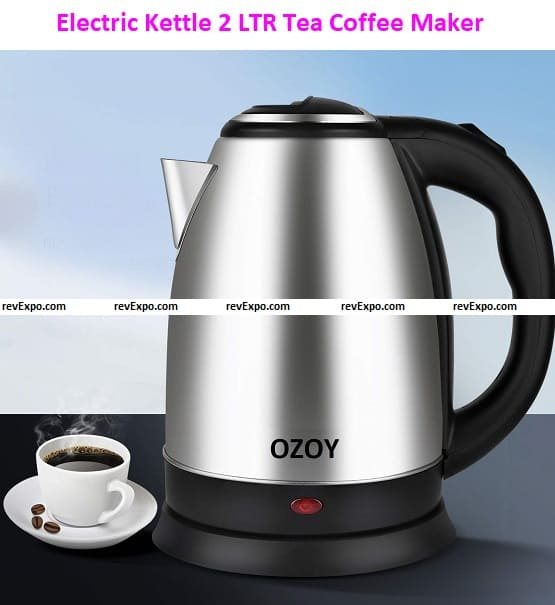 Electric Kettle 2 LTR Automatic Multipurpose Large Size Tea Coffee Maker