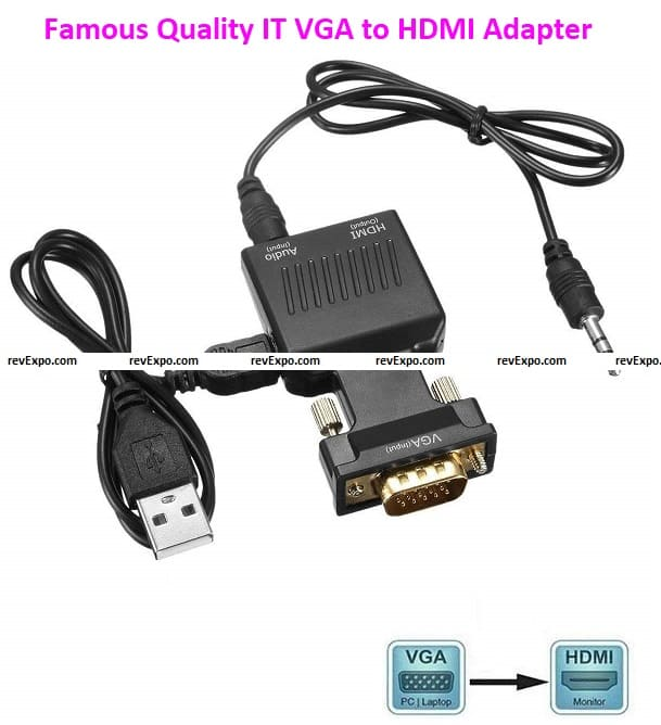Famous Quality IT VGA to HDMI Adapter/Converter