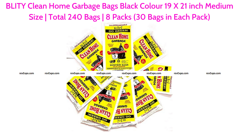 BLITY Clean Home Garbage Bags