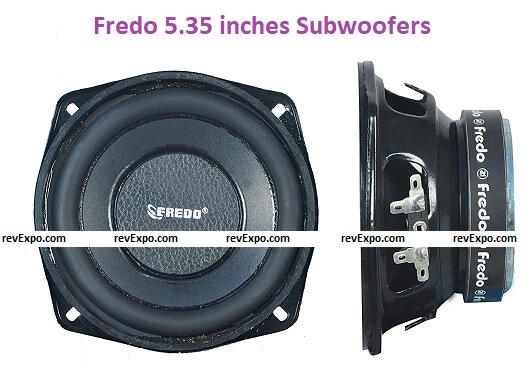 Fredo 5.35 inches Subwoofers