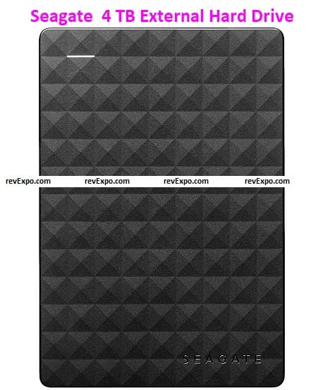 1 Seagate Expansion 4TB External HDD