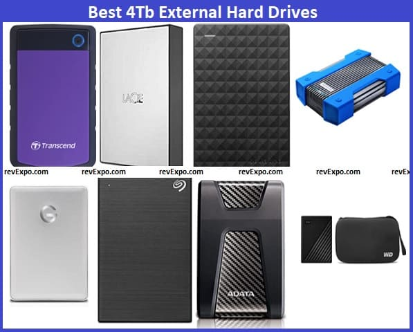Best 4Tb External Hard Drive brands in India