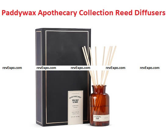 Paddywax Apothecary Collection Reed Diffuser
