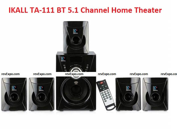 IKALL TA-111 BT 5.1 Channel Home Theater System