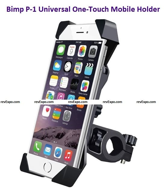 2 Bimp P-1 Universal One Touch Car Mount and Mobile Holder