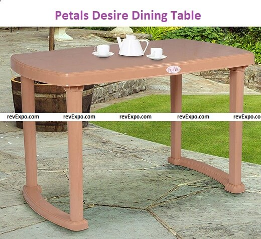 Petals Desire Four Seater Dining Table