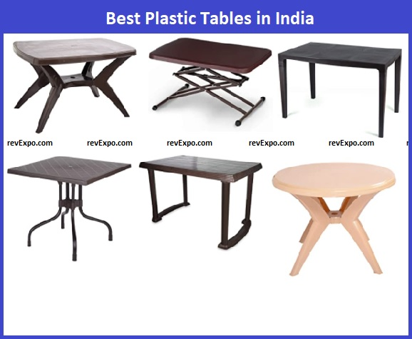 Best Plastic Table Brands in India