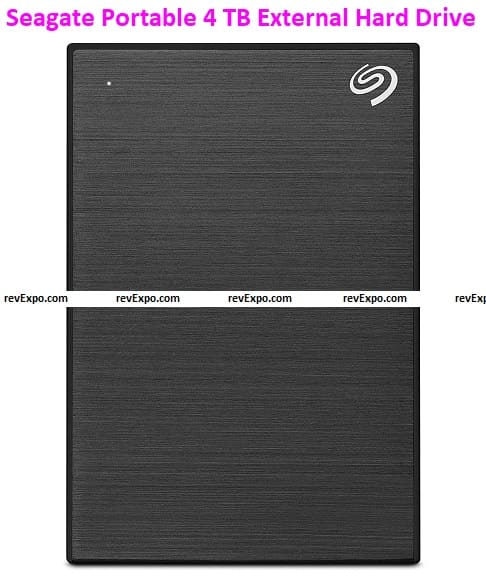 Seagate Backup Plus Portable 4 TB External Hard Drive HDD – Offers Best Value
