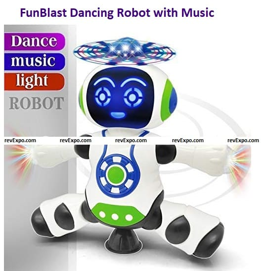 FunBlast Dancing Robot with Music