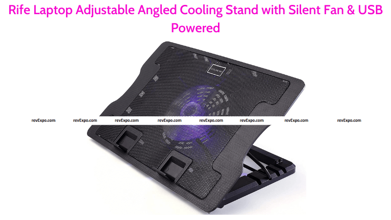 Rife Laptop Adjustable Angled Cooling Stand