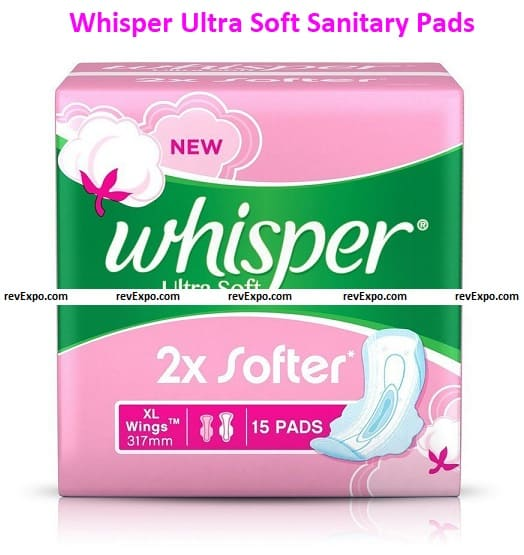 WUltra Soft Sanitary Pads - 15 Count Extra Large