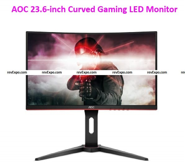 AOC 23.6-inch Curved Gaming LED Monitor