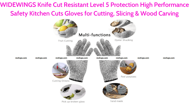 WIDEWINGS Knife Cut Resistant Safety Gloves