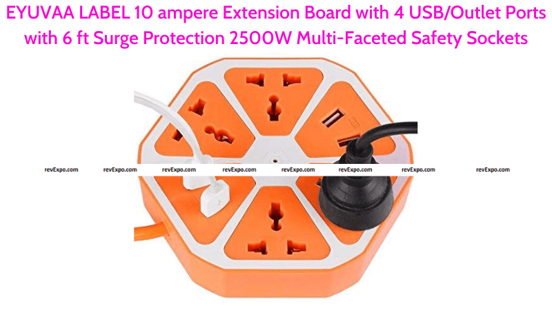 EYUVAA LABEL Extension Board with Sockets