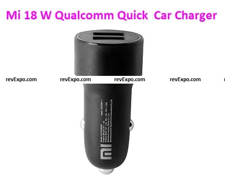 Mi 18 W Qualcomm Quick Charge 3.0 Car Charger