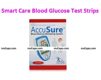 Smart Care Blood Glucose Test Strips for Use with Smart Care Meter