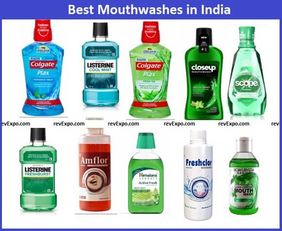 Best Mouth wash brands in India