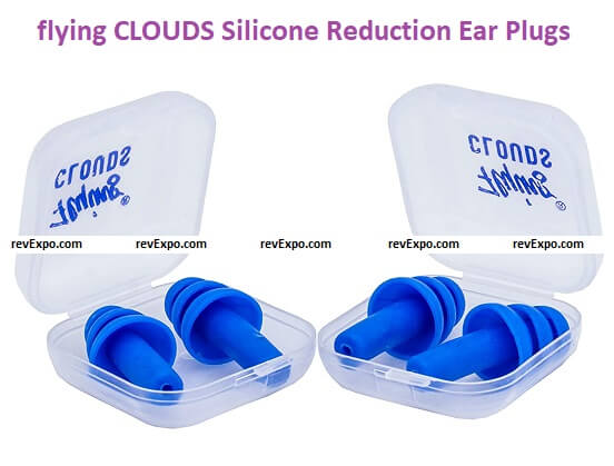 flying CLOUDS Soft Silicone Noise Reduction Ear Plugs
