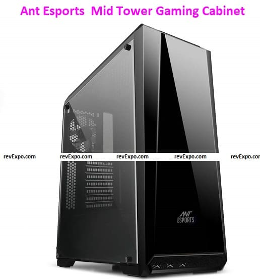 Ant Esports ICE-100TG Mid Tower Gaming Cabinet