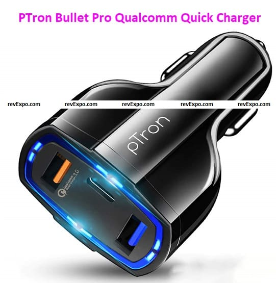 PTron Bullet Pro Qualcomm Certified Quick Charger