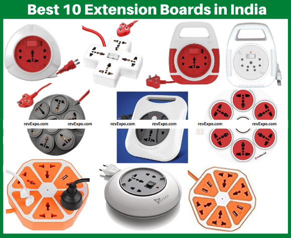 Best 10 Extension Board brands in India
