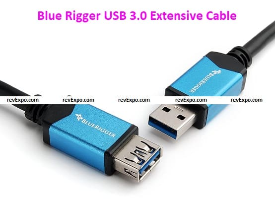 Blue Rigger Super-Speed USB 3.0 Extensive Cable